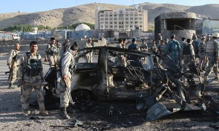 حمله نیروهای طالبان به کنسولگری آمریکا در هرات _ افغانستان