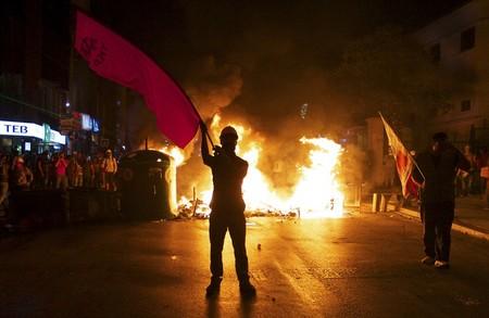 ادامه اعتراضات در استانبول