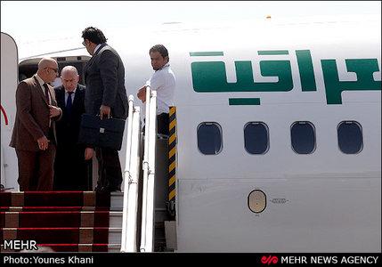 ورود رئیس مجلس عراق به تهران