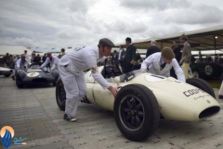 مسابقه خودروهای قدیمی در لندن