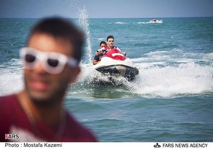 تصاویر / گردشگران در سواحل مازندران