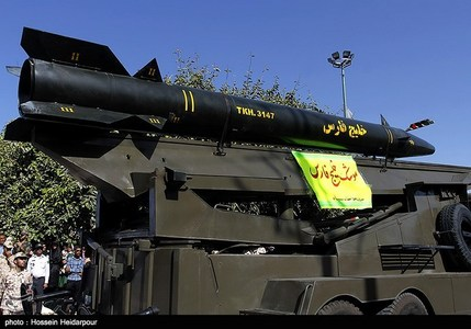 موشک خلیج فارس - بوشهر