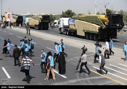 موشک سجیل - تهران