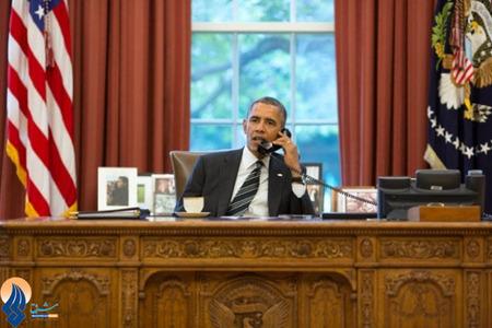 مکالمه تلفنی اوباما با دکتر روحانی