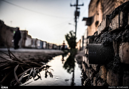 خیابانهایی که بویفاضلاب میدهند+عکس