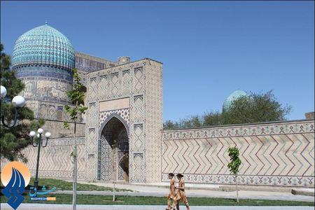 مسجد بیبی خانم سمرقند - ازبکستان
