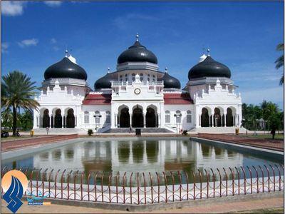 مسجد جامع بیتالرحمن - اندونزی