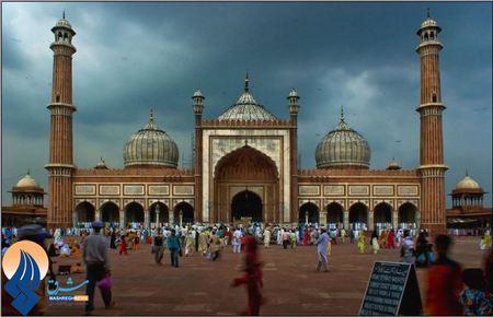 مسجد جامع دهلی نو - هند