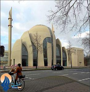 مسجد شهر کلن - آلمان
