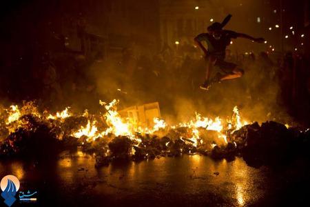 تظاهرات معلمان برزیلی نسبت به سیاسیتهای ضعیف دولت در بخش آموزش
