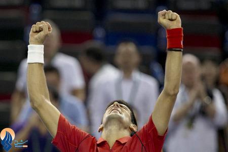 پیروزی جوکوویچ در دیدار نیمه نهایی تنیس شانگهای مقابل جو فرد سونگا