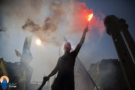 تظاهرات حامیان محمد مرسی در میدان التحریر قاهره