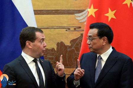 دیدار نخست وزیران چین و روسیه در پکن
