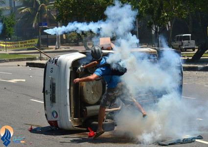 ادامه اعتراضات ضد دولتی در پایتخت برزیل