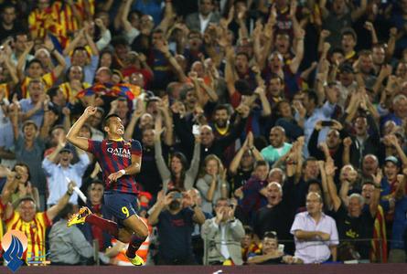 شادی سانچز،زننده گل دوم بارسا مقابل رئال مادرید