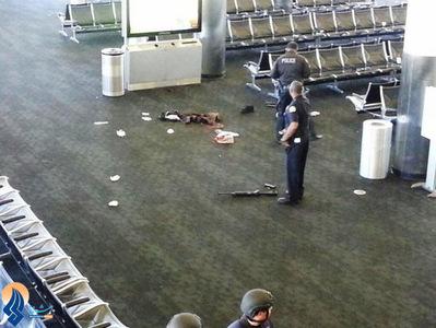 یک کشته در تیراندازی در فرودگاه لس آنجلس _ آمریکا