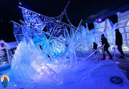 جشنواره مجسمههای یخی در بلژیک