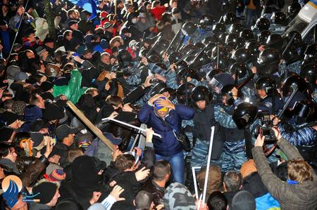 ادامه اعتراضات سراسری و  ضد دولتی مردم اکراین