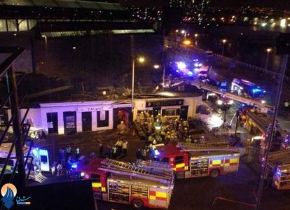 سقوط یک بالگرد پلیس اسکاتلند و کشته شدن 8 نیروی پلیس