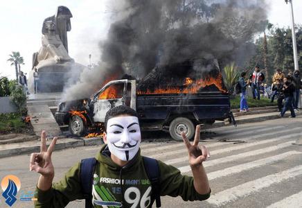 خشم جوانان مصری به دلیل کشته شدن یک نوجوان به دست نیروهای نظامی در قاهره
