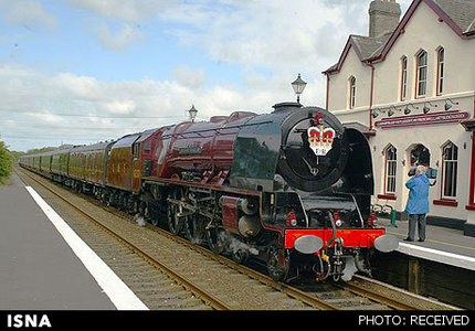 ملکه انگلیس ـ قطار سلطنتی