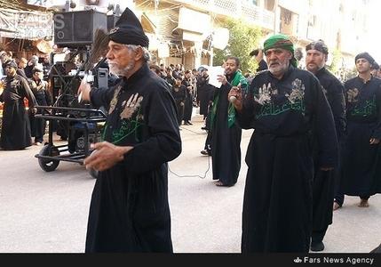 عزاداری زائران حسینی در کربلا