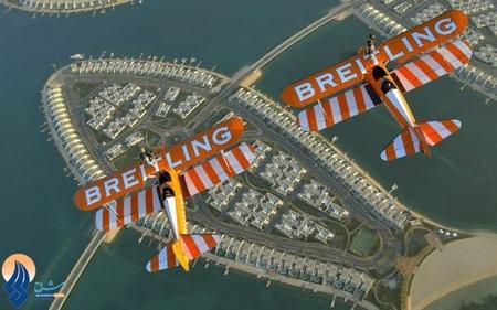 نمایش هوایی تیم بحرین در نمایشگاه هوایی منامه 2014