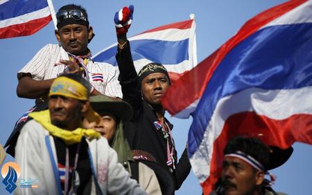 ادامه اعتراضات ضددولتی مردم تایلند