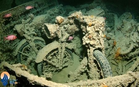 پیدا شدن یک کشتی حامل مهمات و ادوات جنگی ارتش انگلیس که در سال 1941 در سواحل مصر غرق شده بود.
