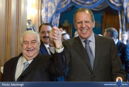 دیدار وزرای امور خارجه روسیه و سوریه