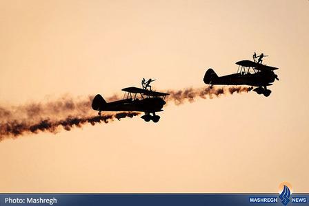 نمایش تیم هوایی بریتانیا در نمایشگاه هوایی بحرین
