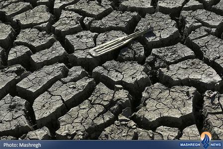 خشک شدن رودخانه سن خوزن در ایالت کالیفرنیا