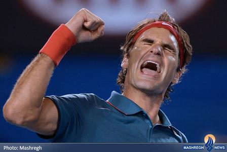 پیروزی راجرفدرر مقابل اندی ماری در تنیس آزاد ملبورن