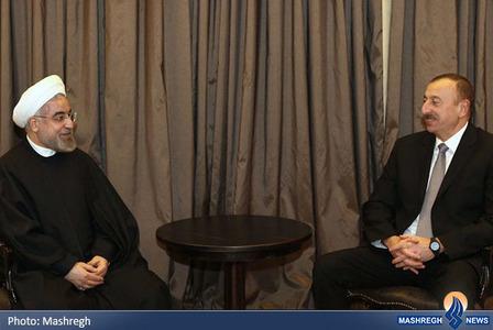 دیدار با رئیس جمهور آذربایجان