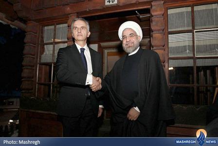 دیدار با رئیس جمهور سوییس