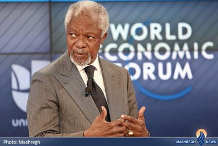 کوفی عنان دبیر کل سابق سازمان ملل