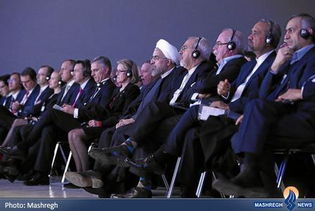 هیات ایرانی شرکت کننده در اجلاس دائوس