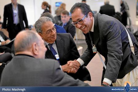 عمرو موسی دبیر کل اتحادیه عرب