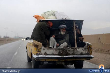 مهاجرت چند مرد افغان از شهر مزار شریف به دلیل افزایش ناامنی این شهر