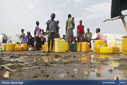 وضعیت نامناسب آوارگان سودان جنوبی