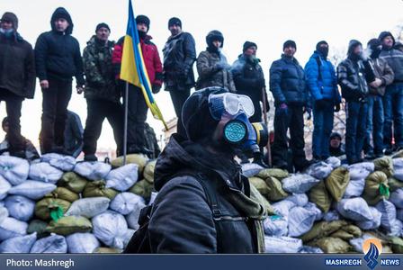 ادامه درگیری ها در اوکراین