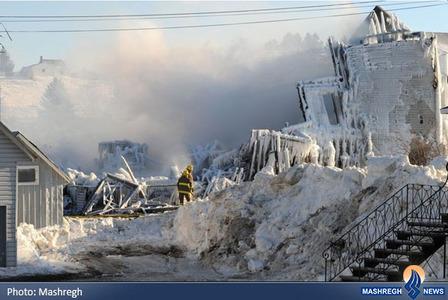۵ کشته  در حادثه آتشسوزی در خانه سالمندان در ایالت  «کبک» کانادا