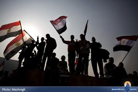 تجمع حامیان محمد مرسی در سومین سالگرد انقلاب مصر