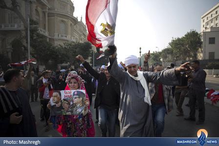 تجمع طرفداران ژنرال السیسی در قاهره
