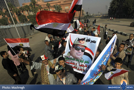 طرفداران ژنرال السیسی در قاهره