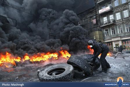 ادامه ناآرامی ها در اوکراین