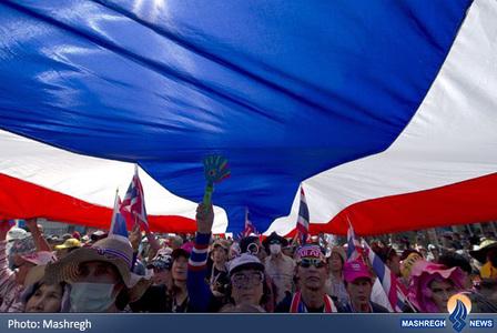 ادامه تظاهرات در بانکوک تایلند
