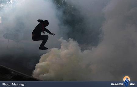 اعتراضات ضدحکومتی جوانان بحرینی در منامه