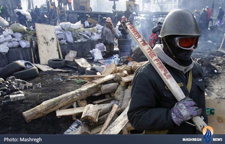 ادامه درگیری ها در اکراین