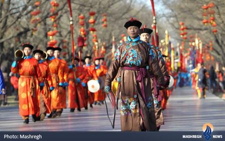 مراسم باستانی برای آینده سال جدید قمری و جشنواره بهار در معبد بهشت پکن